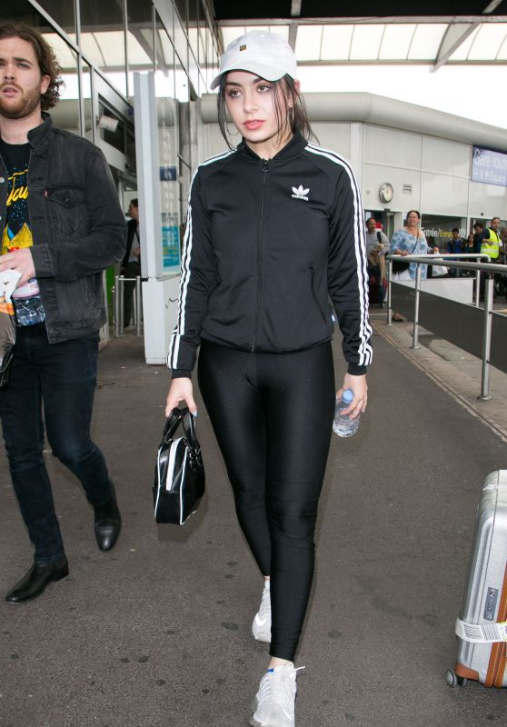 Charli XCX at Nice Airport in France, 5/13/2016