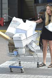 Charlotte Crosby - Shopping at IKEA in Newcastle, UK 5/8/2016