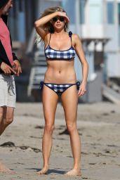 Charlotte McKinney in a Bikini at At Malibu Beach 5/8/2016