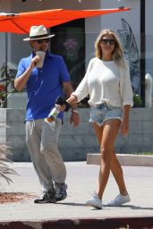 Charlotte McKinney in Skimpy Daisy Dukes at Malibu Country Mart in Malibu 5/14/2016