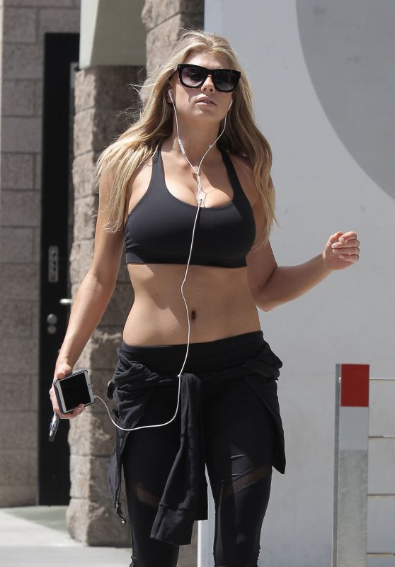 Charlotte McKinney - Working out in Los Angeles  5/11/2016