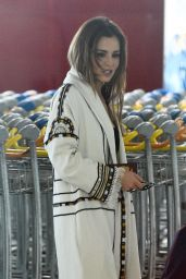 Cheryl Fernandez-Versini - Arriving at Charles de Gaule airport in Paris 5/9/2016
