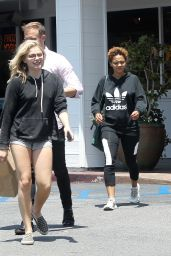 Chloë Grace Moretz Leggy in Shorts - Out in Los Angeles 5/17/2016