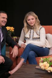 Chloë Grace Moretz - Promoting