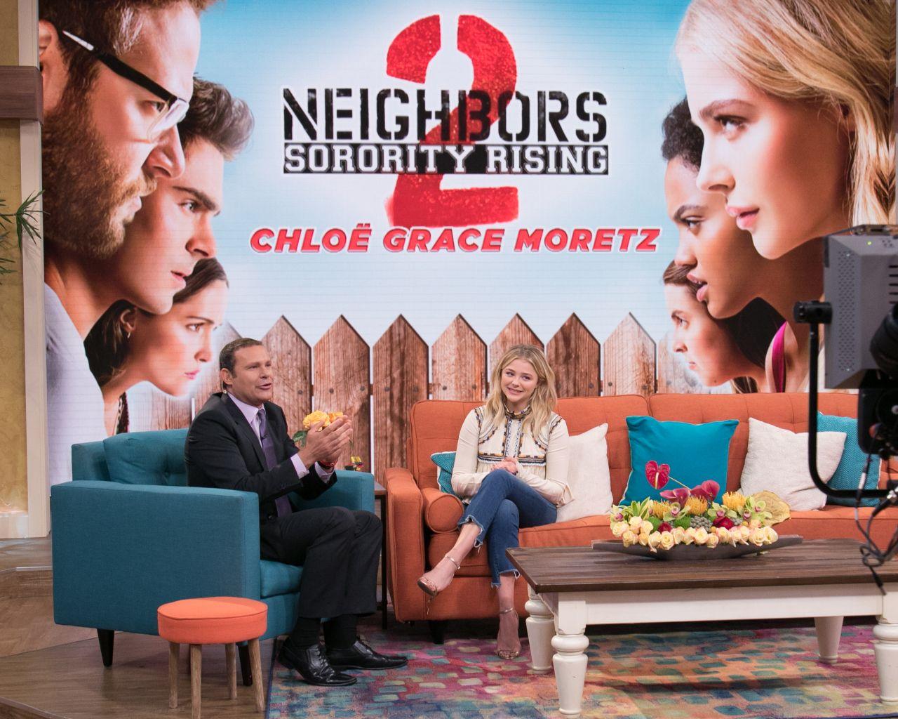 Chloe Moretz Neighbors 2 Sorority Rising Wallpapers: Promoting 'Neighbors 2: Sorority