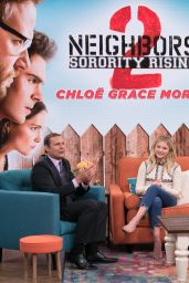 Chloë Grace Moretz - Promoting