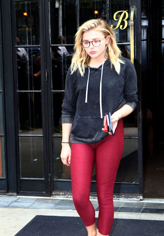 Chloë Moretz at The Bowery Hotel in New York City 5/24/2016