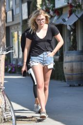 Chloë Moretz - Heading to a Tattoo Shop in Studio City 5/17/2016