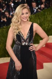 Chloe Moretz - Costume Institute Gala in New York 5/2/2016