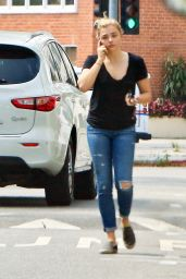 Chloe Moretz Street Style - Out in Beverly Hills 5/18/2016