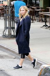 Chloe Moretz Street Style - Out in NYC 5/7/2016