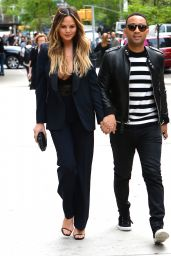 Chrissy Teigen - Out in New York City 5/18/2016
