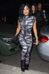 Christina Milian Night Out Style - at The District West Hollywood 5/13/2016
