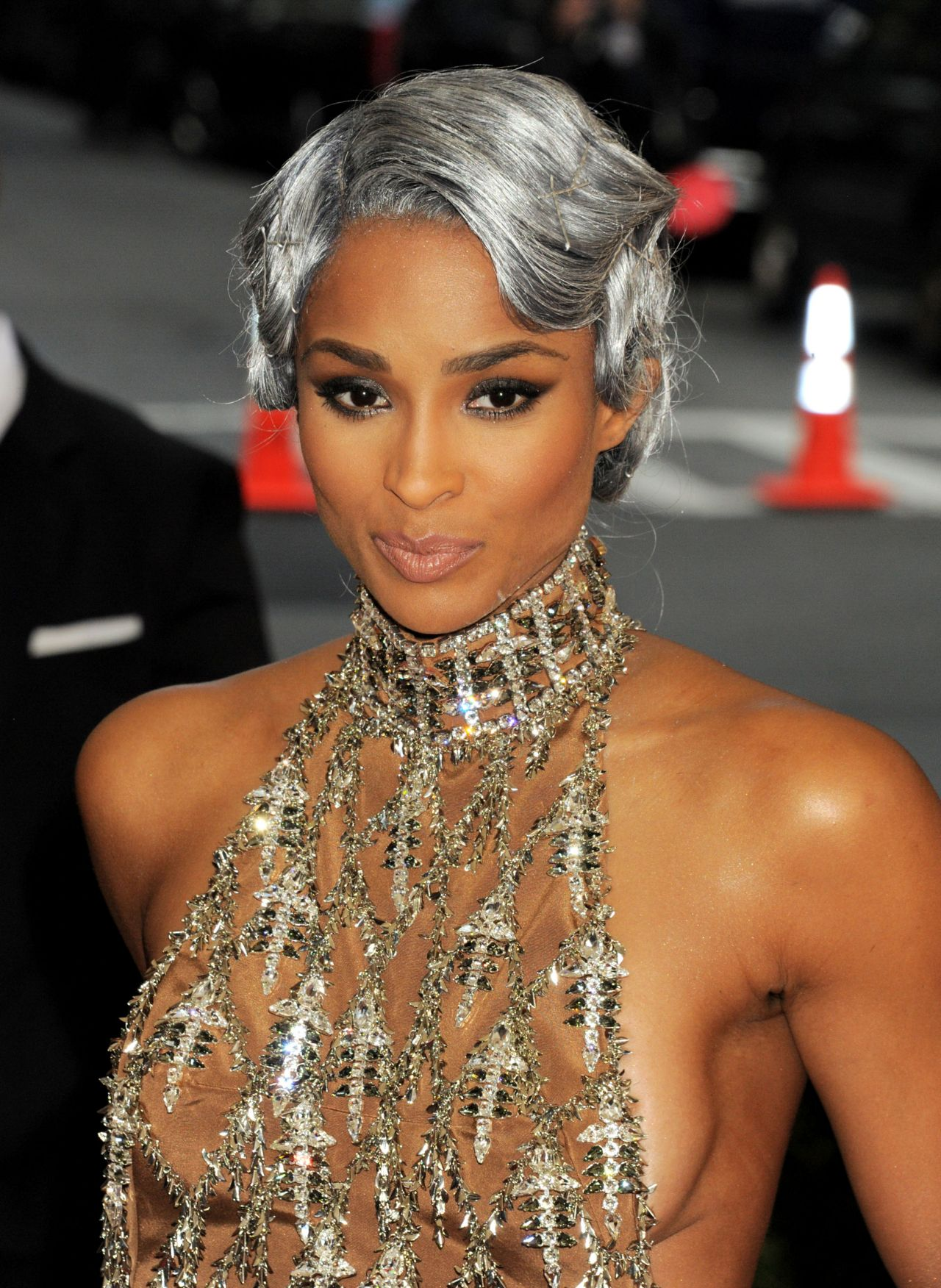 Ciara 2016 Met Gala Held At The Metropolitan Museum Of