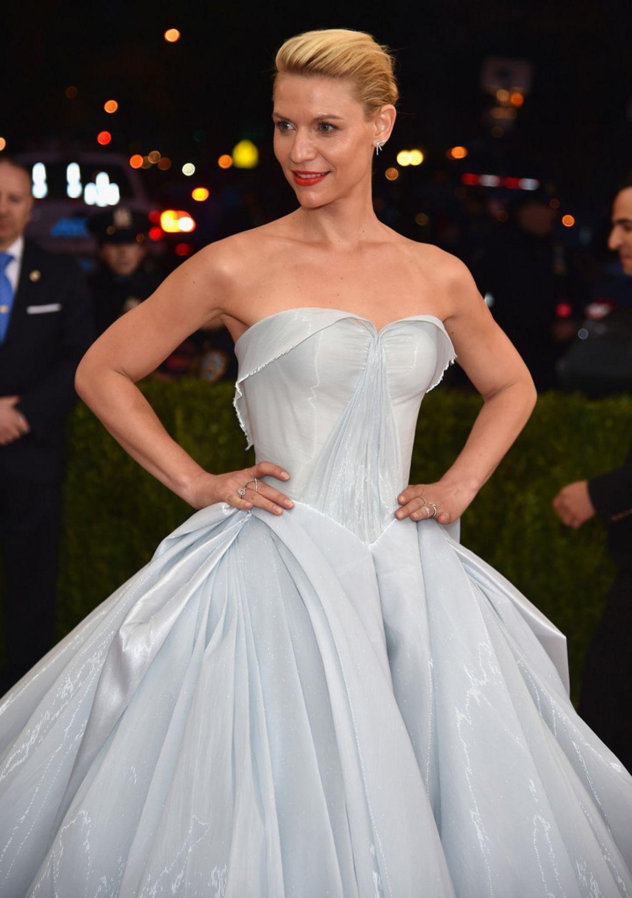 Claire Danes Met Costume Institute Gala 2016 In New York