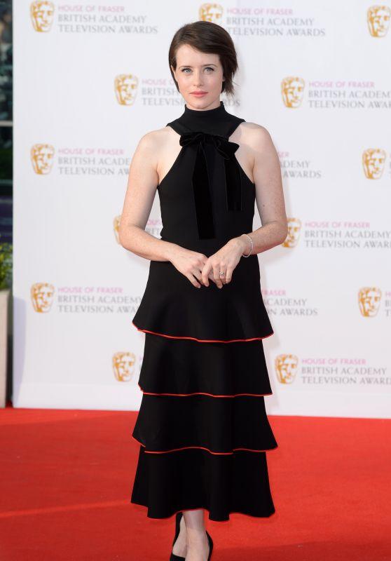 Clare Foy – British Academy Television Awards BAFTAS 2016 in London