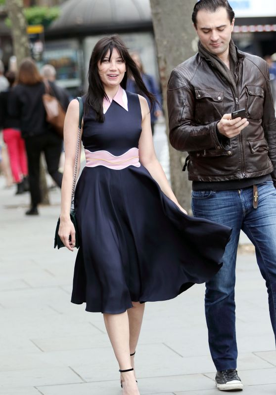Daisy Lowe Looks Dressed to Impress in London, May 2016