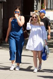 Dakota Fanning - Out in New York City 5/12/2016