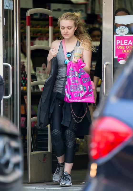 Dakota Fanning - Out in New York City, NY 5/9/2016