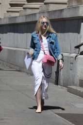 Dakota Fanning - Out in NYC 5/8/2016