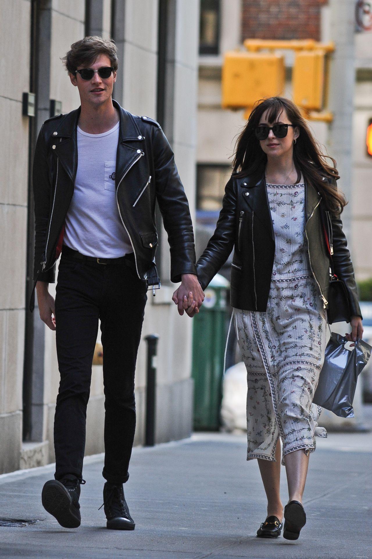 Dakota Johnson and Boyfriend Matthew Hitt - Seen Out ...