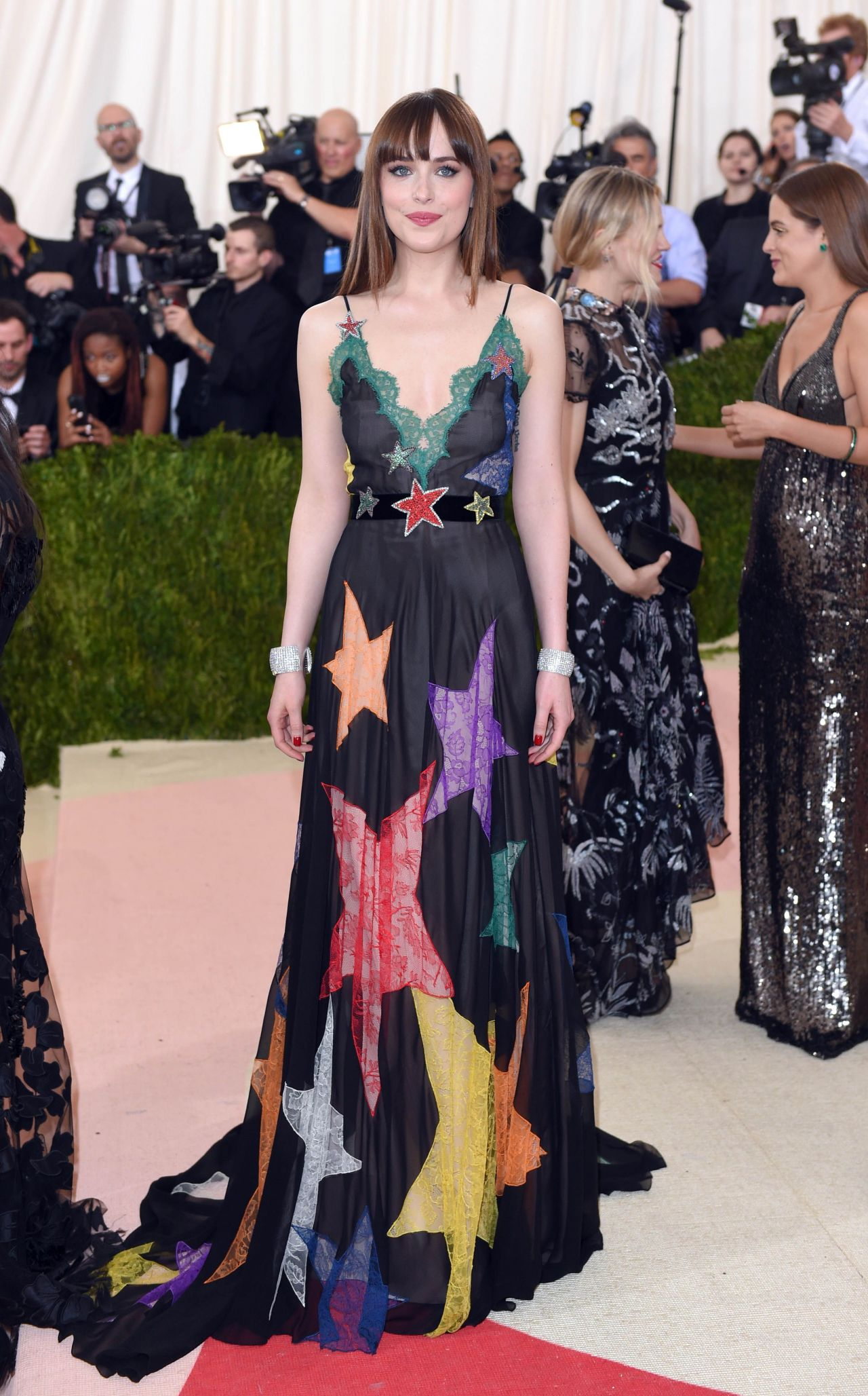 Dakota Johnson Met Costume Institute Gala 2016 In New York
