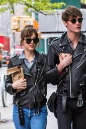 Dakota Johnson - Out For Lunch the Next Morning After Met Gala in NYC 5/3/2016