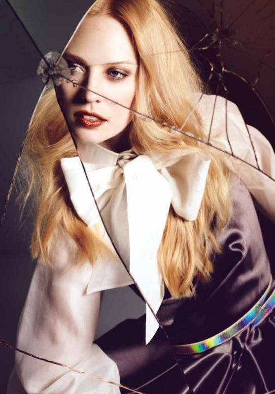 Deborah Ann Woll - Rogue Magazine Spring 2016 Cover and Pics