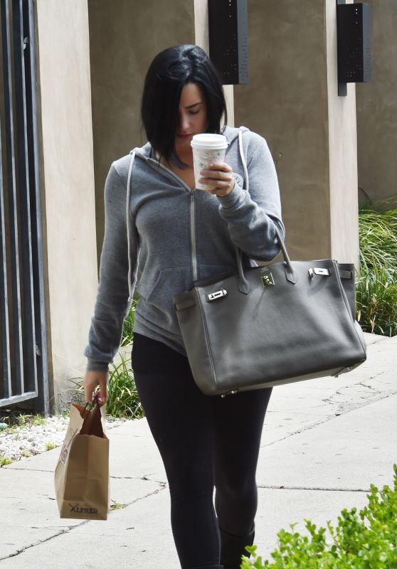 Demi Lovato - Leaving Nine Zero One Salon in West Hollywood 5/24/2016