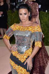 Demi Lovato – Met Costume Institute Gala 2016 in New York