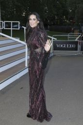 Demi Moore - British Vogue Centenary Gala Dinner in London 5/23/2016