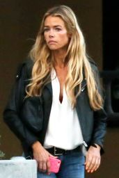 Denise Richards Urban Outfit - Out For Dinner in Malibu 5/15/2016
