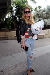 Doutzen Kroes at Nice Airport in France 5/10/2016