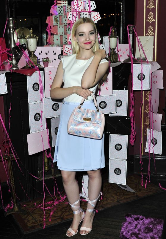 Dove Cameron Chic Outfit - Call It Spring Launch Party in Hollywood, May 2016