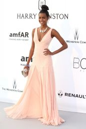 Ebonee Davis – amfAR's Cinema Against AIDS Gala in Cap d'Antibes, France, 5/19/2016