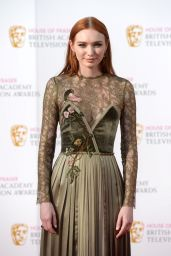 Eleanor Tomlinson – British Academy Television Awards BAFTAS 2016 in London