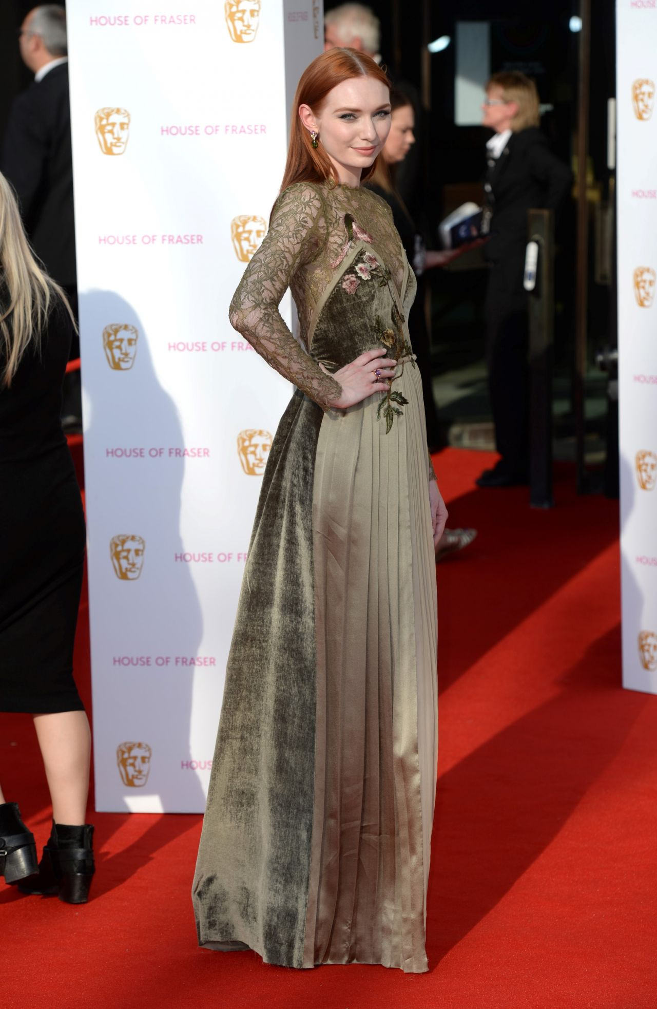 Eleanor tomlinson at 2019 british academy television awards in london