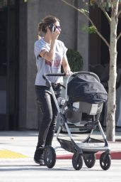 Elisabetta Canalis - Out for Lunch at Urth Cafe in West Hollywood 5/10/2016