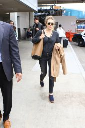 Elizabeth Olsen at LAX Airport in LA 5/7/2016