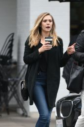 Elizabeth Olsen Casual Style - Out in Los Angeles 5/19/2016