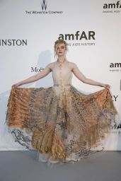 Elle Fanning – amfAR's Cinema Against AIDS Gala in Cap d'Antibes, France, 5/19/2016