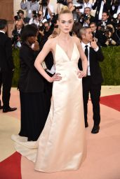 Elle Fanning – Met Costume Institute Gala 2016 in New York