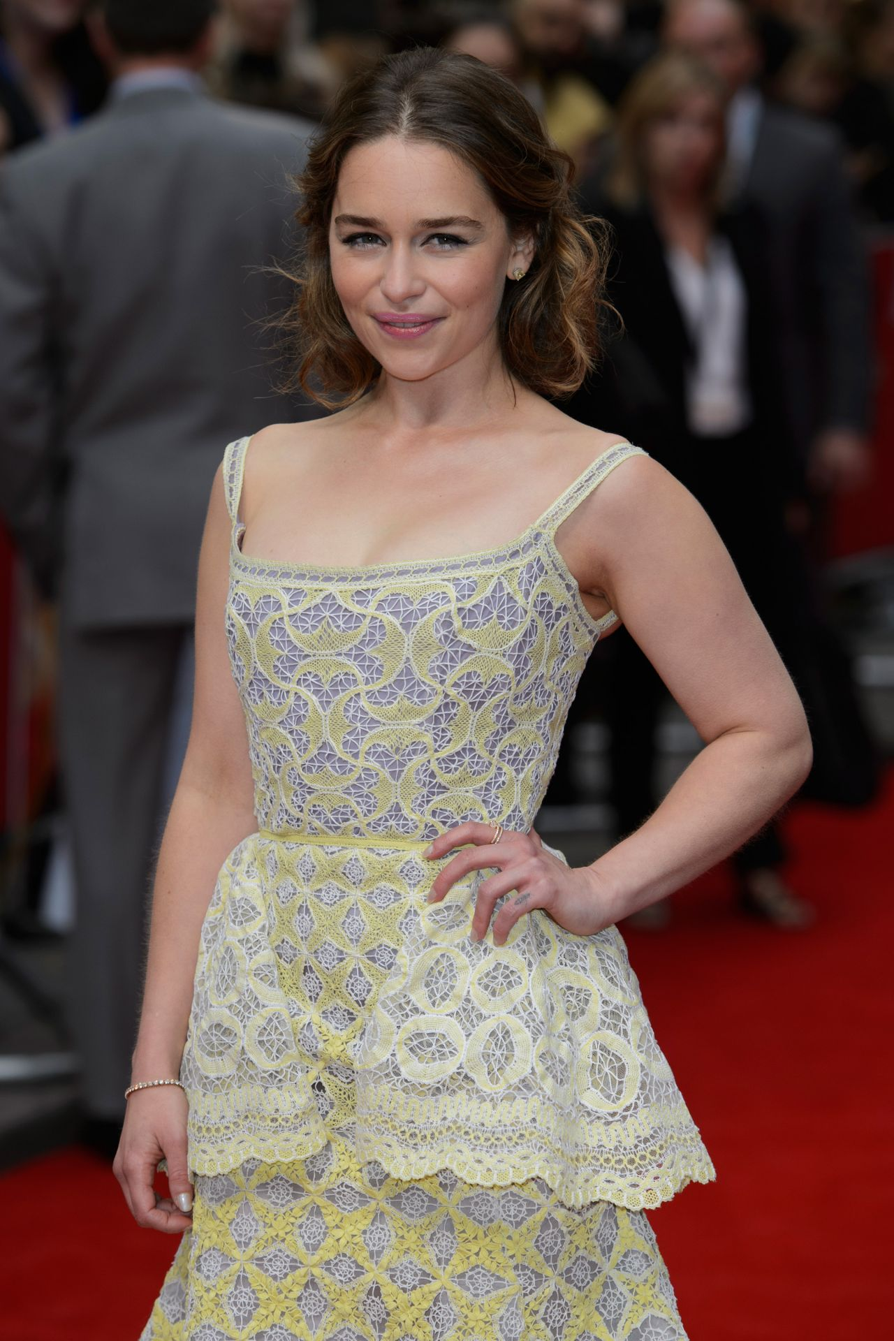 Emilia Clarke - 'Me Before You' Premiere in London, UK 5 ...