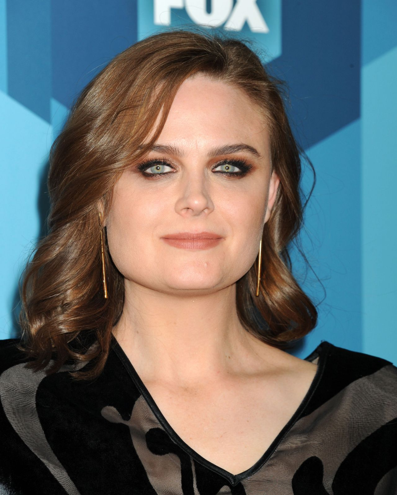 Emily Deschanel Fox Network 2016 Upfront Presentation In