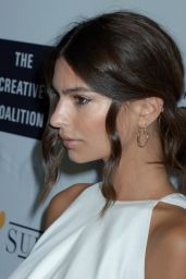 Emily Ratajkowski – Creative Coalition's Celebration of Arts in America in Washington D.C. 4/29/2016