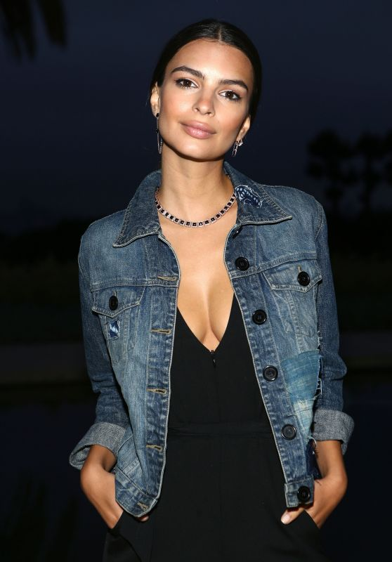 Emily Ratajkowski – Yoox x Studio 189 Party in Los Angeles 5/11/2016