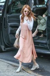 Emma Roberts Cute Outfit Ideas - NYC 4/30/2016