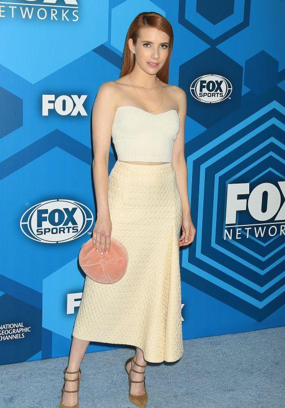 Emma Roberts  – Fox Network 2016 Upfront Presentation in New York City