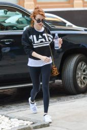 Emma Roberts Going to a Gym in New York City 4/30/2016