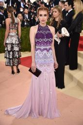 Emma Roberts – Met Costume Institute Gala 2016 in New York